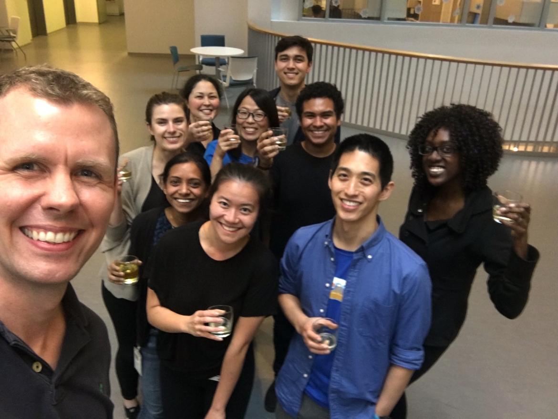 Kampmann lab Chan Zuckerberg Biohub celebration
