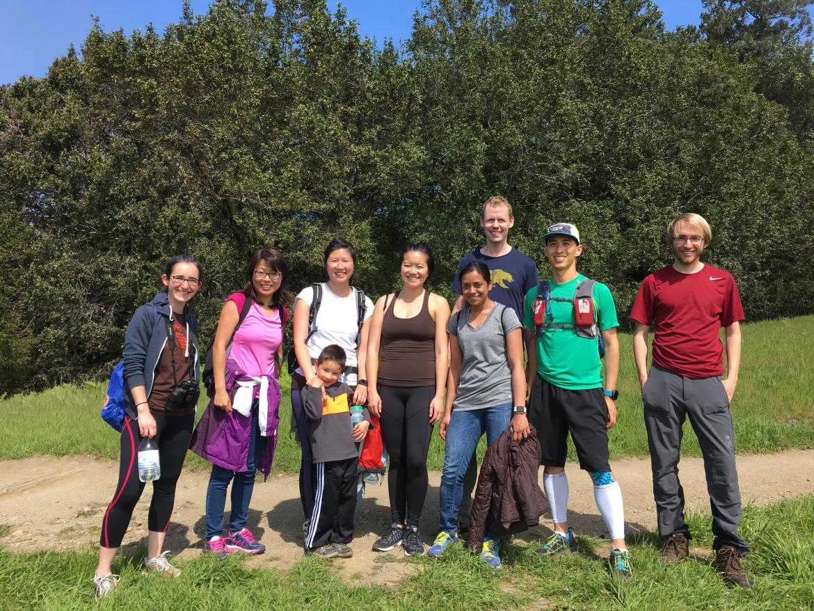 Kampmann lab hike