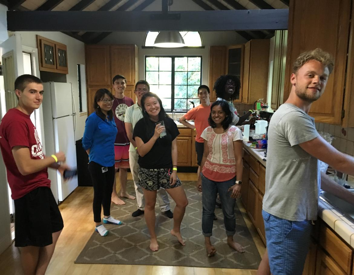 Kampmann lab retreat: Cooking