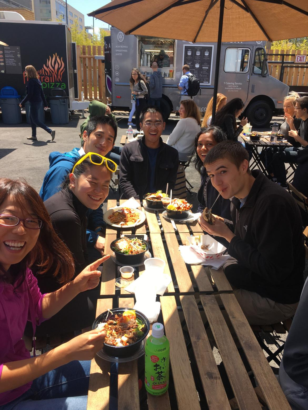 Lab lunch: Goodbye Logan, Welcome back Ruilin!