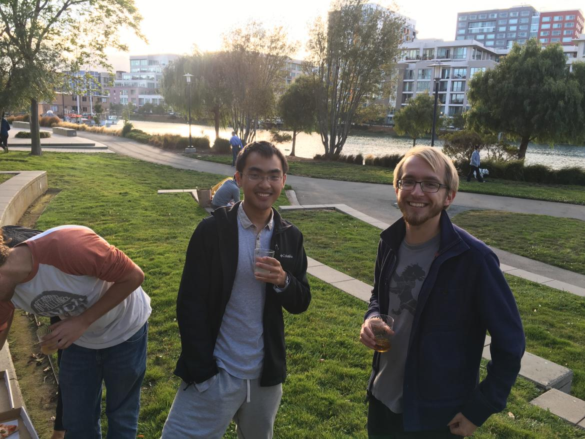 Kampmann lab End of Summer Party