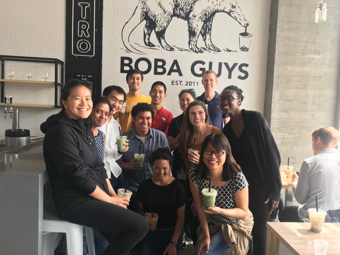Kampmann lab bubble tea