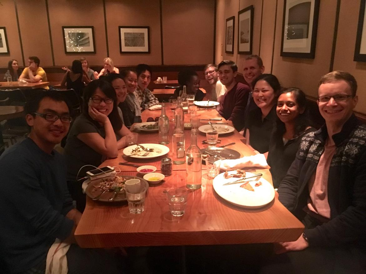 Kampmann lab Escape Room dinner