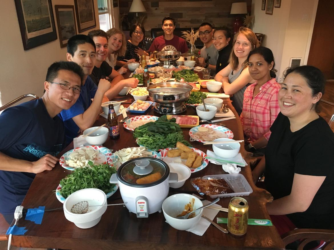 Kampmann Lab retreat - dinner