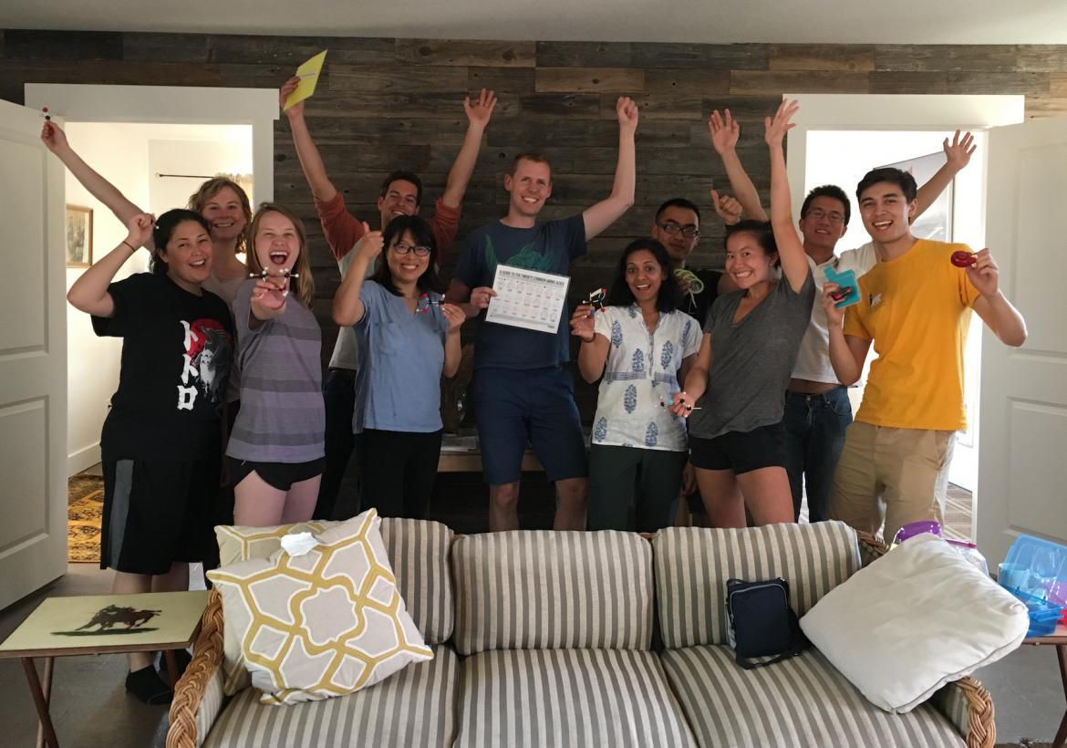 Kampmann Lab retreat - escape room