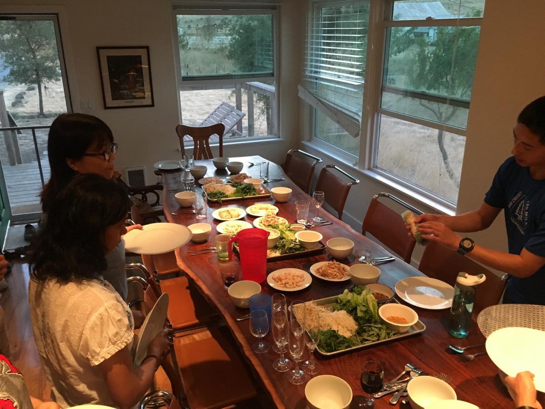 Kampmann Lab retreat - dinner