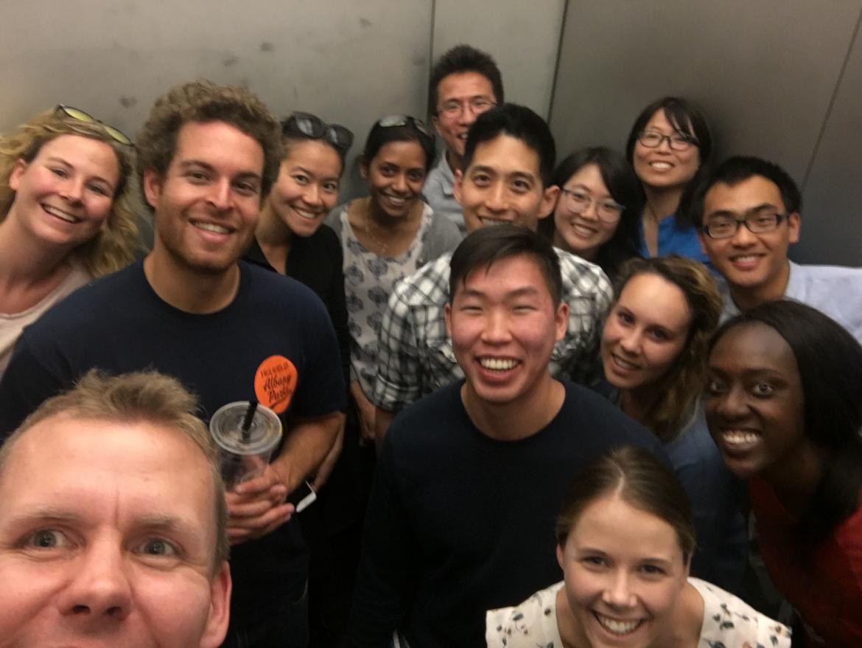 Kampmann Lab selfie