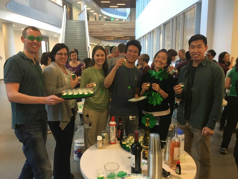 Kampmann lab social hour