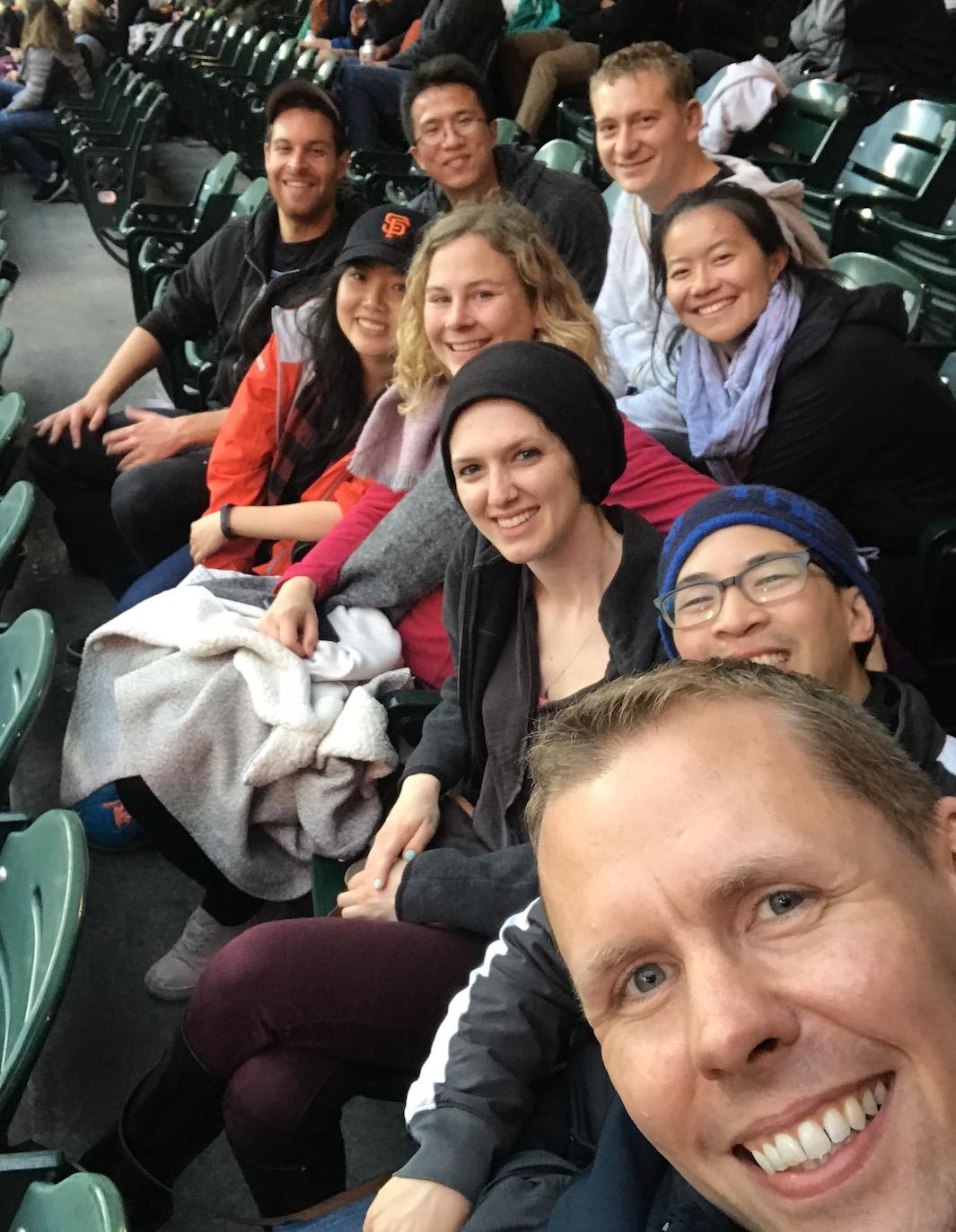 Kampmann lab at the Ballpark