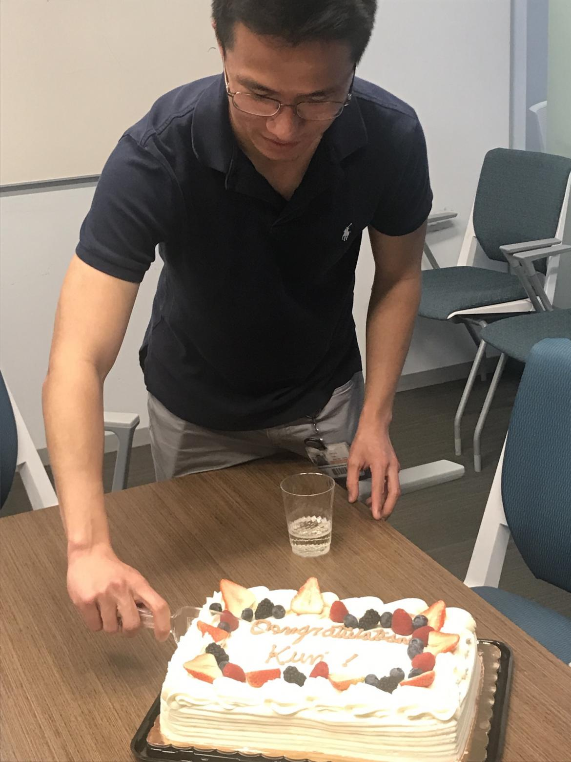 Kun Leng Kampmann Lab celebration