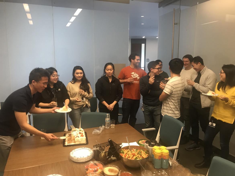 Kun Leng Kampmann Lab celebration