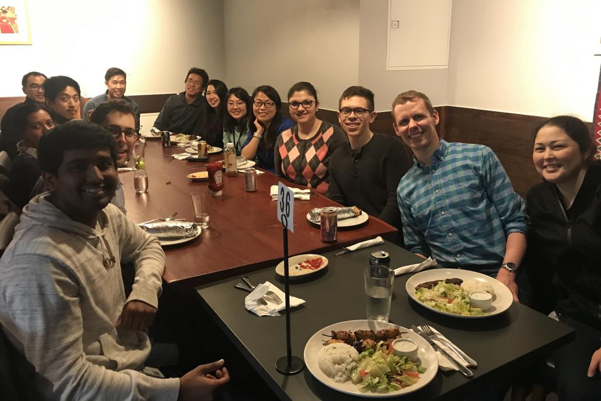 Kampmann Lab Spring Cleaning lunch