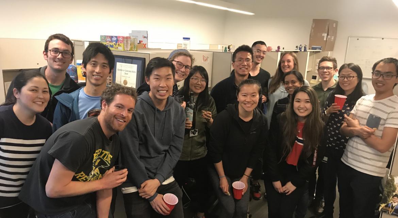 Emmy Li Kampmann Lab NDSEG celebration