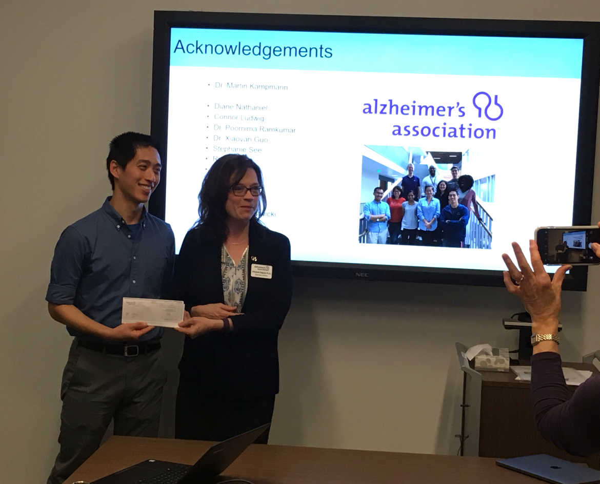 John Chen Kampmann Lab Alzheimer's Association
