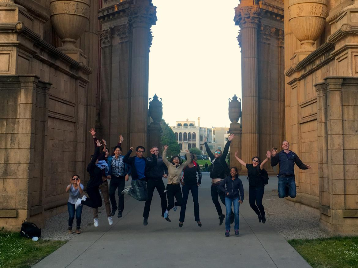 Kampmann lab Palace of Fine Arts