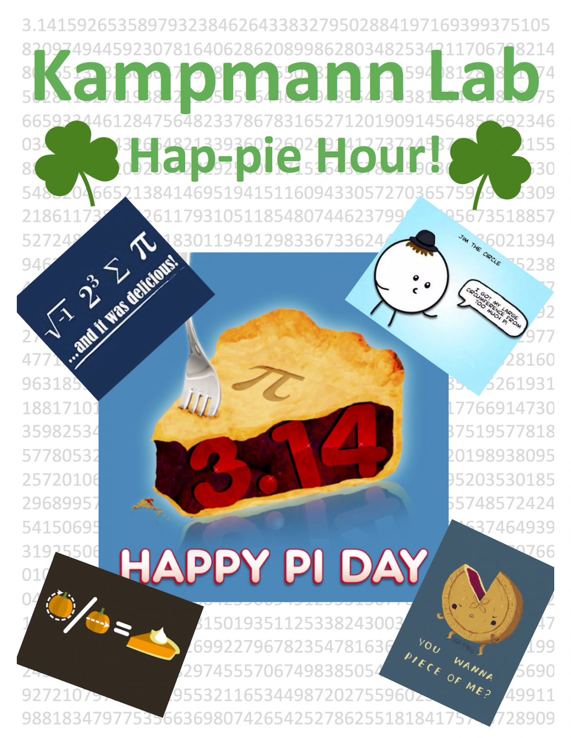 Kampmann Lab Pi Day