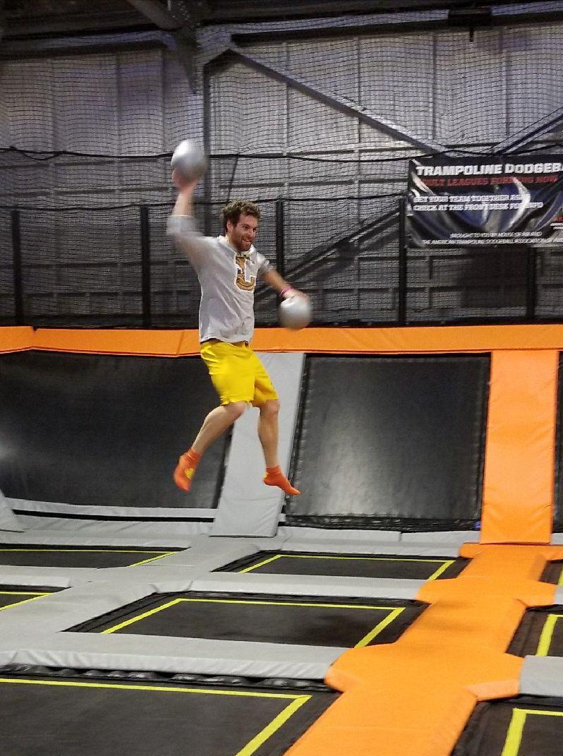 Kampmann lab @ House of Air: Dodgeball!
