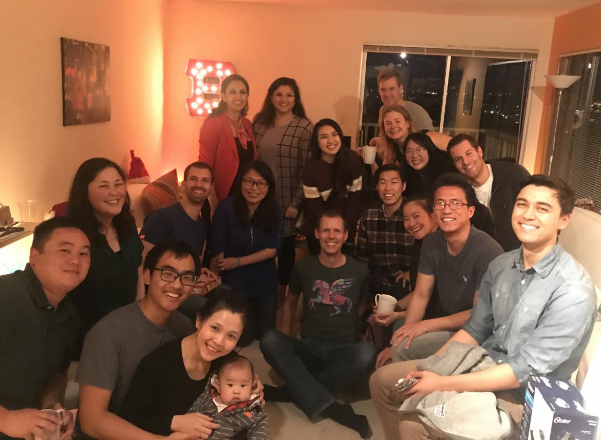 Kampmann Lab Holiday Party 2018