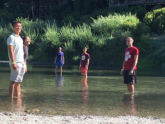 Kampmann lab retreat: Russian River