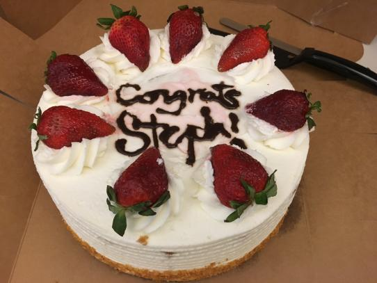 Stephanie See Kampmann lab Quals cake